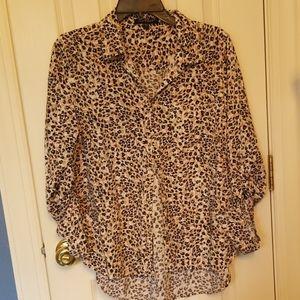 Cute print blouse